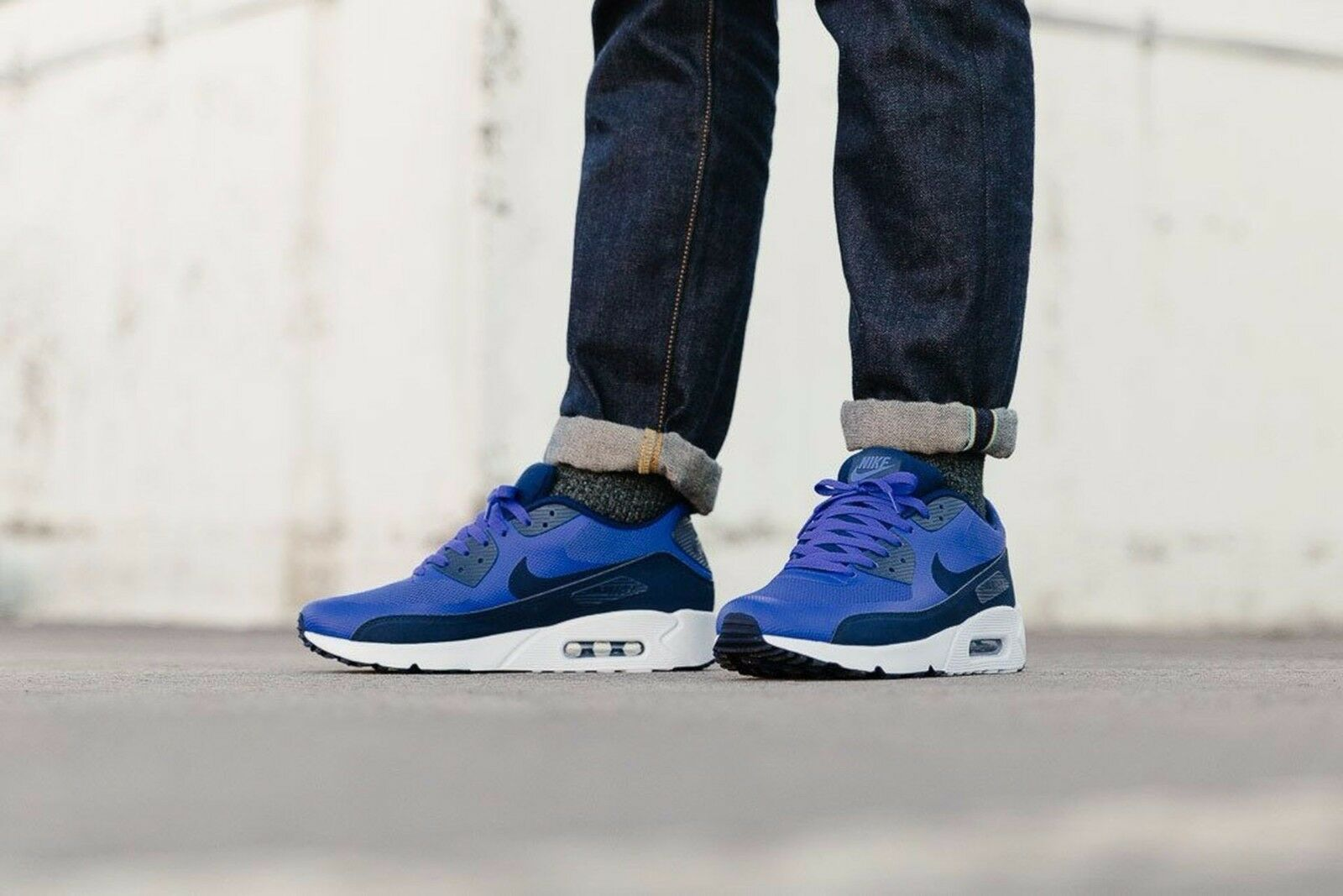 Size 11.5 - Nike Air Max 90 Ultra 2.0 Essential Paramount Blue for ...