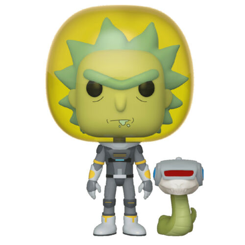 Animation Rick and Morty Space Suit Rick with Snake Vinyl Figure Funko POP