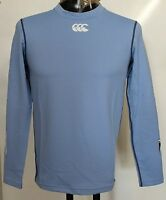 Cardiff Blues L/s Blue Cold Base Layer By Canterbury Size Medium Boys Brand