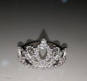 anello corona donna