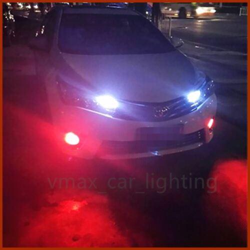 1999-2017 Ford F-150 Fog Light Kit Red Color Car H10 9005 9140 LED 60W Bulbs