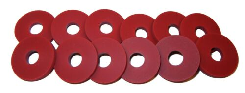 Grolsch Style-Classic and Reliable Twelve RED Rubber Guitar Strap Locks