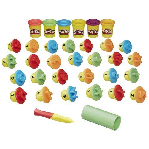 Play-DOH La forma e imparare le lettere e lingua Bambino Apprendimento Educativo Giocattolo