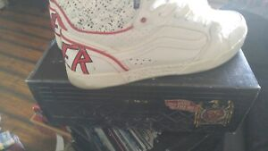 6bb3d5ed6d Vans Slayer shoes Sz. 11 rare!!! Old school Vans punk Metal ...