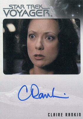 Star Trek Voyager Heroes /& Villains Cindy Katz as Kejal Auto Card
