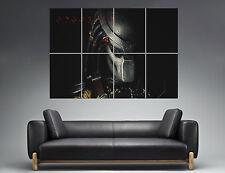 PREDATOR FACE MASK 02  Wall Poster Grand format A0  Print