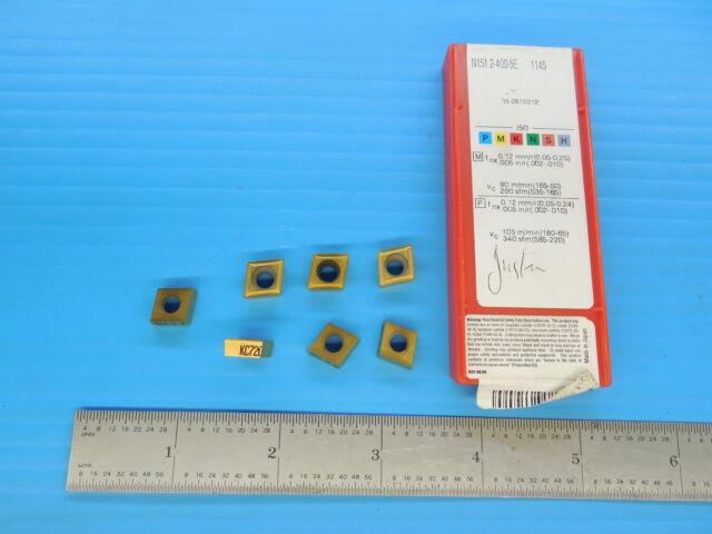 Sandvik 10 pcs Inserts R151.2-400 05-5E 1145 Carbide Inserts