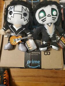 Funko Kiss plushies Ace Frehley/Peter Criss