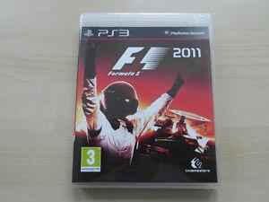 F1 2011 (Sony PlayStation 3, 2011) très bon état
