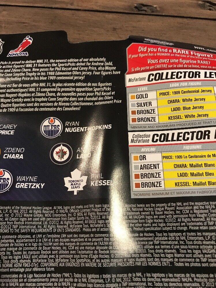 Signed Andrew Ladd Ladd Ladd Mcfarlane  NHL  Series 31 Figure Autograph 3efd94