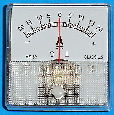 DC-Analog-Ammeter-20-0-20-Amps-DC-MS52-type
