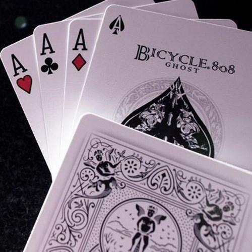 Ghost Playing Cards White Edition Ellusionist Magic Deck