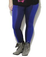 Slimming Seamless Color Block Leggings Pants Nylon M L Xl 1x / 2x , 2x / 3x