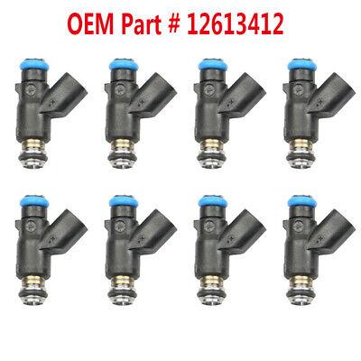 8x Car  Fuel Injectors Fit for Chevrolet Express 2WD 4WD 1500 2500HD 3500HD 2013