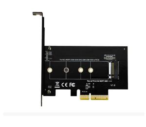 M.2 NGFF M Key SSD Adapter Card Apple Mac Pro PCI-E 4x to NVMe M.2 NGFF B Key