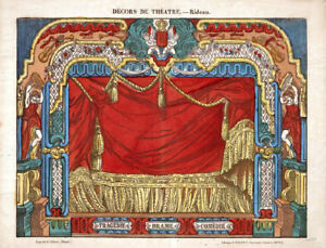 Make A VICTORIAN PAPER MODEL TOY THEATRE 100's of Tenplate Sheet Images To Print