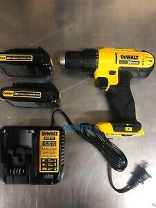 NEW-DeWALT-DCD771C2-20-Volt-Max-Li-ion-1-2-Inch-Compact-Drill-Driver-Kit-DCD771b