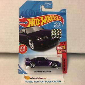 Nissan-Skyline-GT-R-R33-193-Purple-Limited-FACTORY-SET-2018-Hot-Wheels-NF