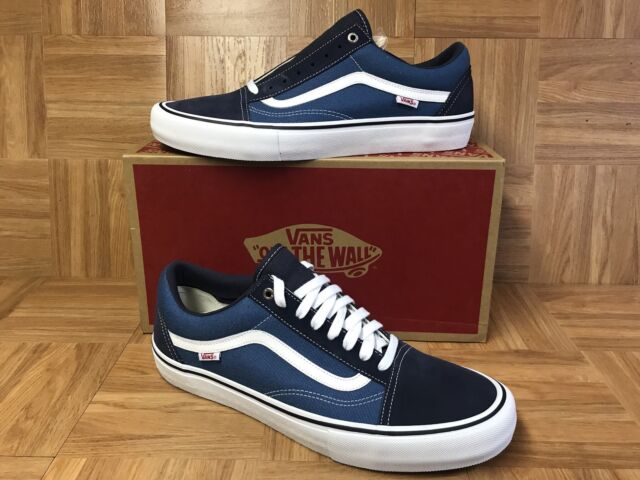 8ea26ac36c5c RARE🔥 VANS Old Skool PRO Navy Blue White STV NAVY Sz 13 Men s Skateboarding  Sho