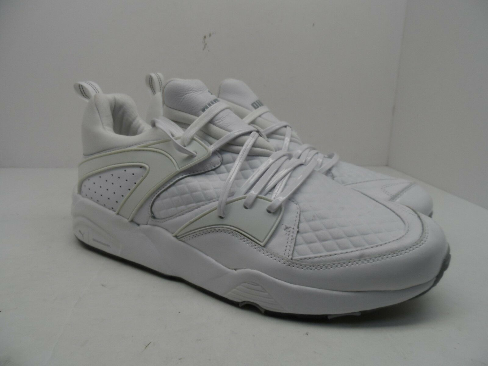 16e47e8b2ddb PUMA Men s BLAZE OF GLORY X MEEK BIKE LIFE LIFE LIFE 362204 02 Casual Shoe  White SAUCONY Hurricane 16 Men s Blue Running ...