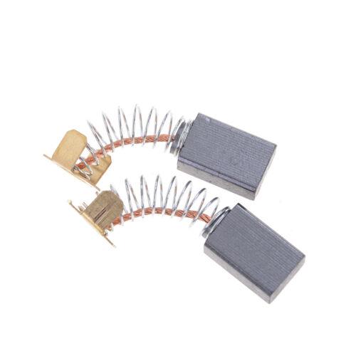 2x 15x10x6mm Carbon Brushes Repairing Part Generic Electric Motor Jq