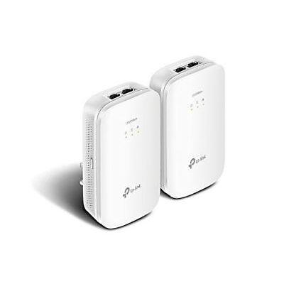 TP-Link TL-PA9020 KIT AV2000 2-Port Gigabit 4K Powerline Starter Kit 2000Mbps