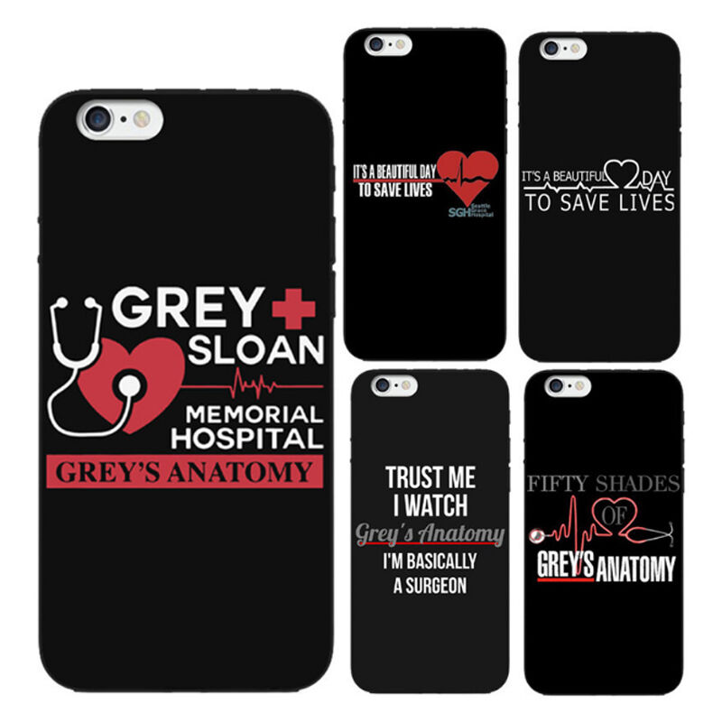 Grey S Anatomy Quote It A Beautiful Day To Save Lives Iphone Case