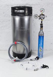 Premium Sodastream A* Cornelius Keg Kit - Reg, Discos