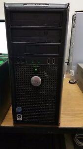 Dell Optiplex 760 Desktop Computer PC Core 2 Duo 3.33Ghz 2GB 160gb HDD Win 7