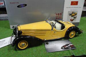 AUDI-FRONT-225-ROADSTER-1935-cabriolet-jaune-1-18-d-CMC-M-075A-voiture-miniature