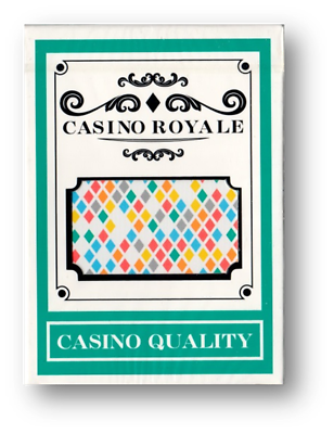 2019 Moda Casino Royale Playing Cards Poker Carte Da Gioco Cardistry-