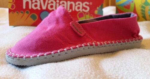 HAVAIANAS ORIGINE ESPADRILLES KIDS INFANT SIZES UNISEX BEACH SUMMER SHOES