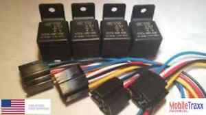 Tyco-Relay-4-PACK-SPDT-20-30A-12v-5-Pin-V23234-A1001-X036-Bosch-Style