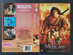 Details about The Last of the Mohicans - Promo Sample Video Sleeve/Cover  #B3776