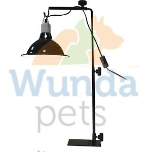 light stand reptile vivarium adjustable tortoise table heat lamp. Black Bedroom Furniture Sets. Home Design Ideas