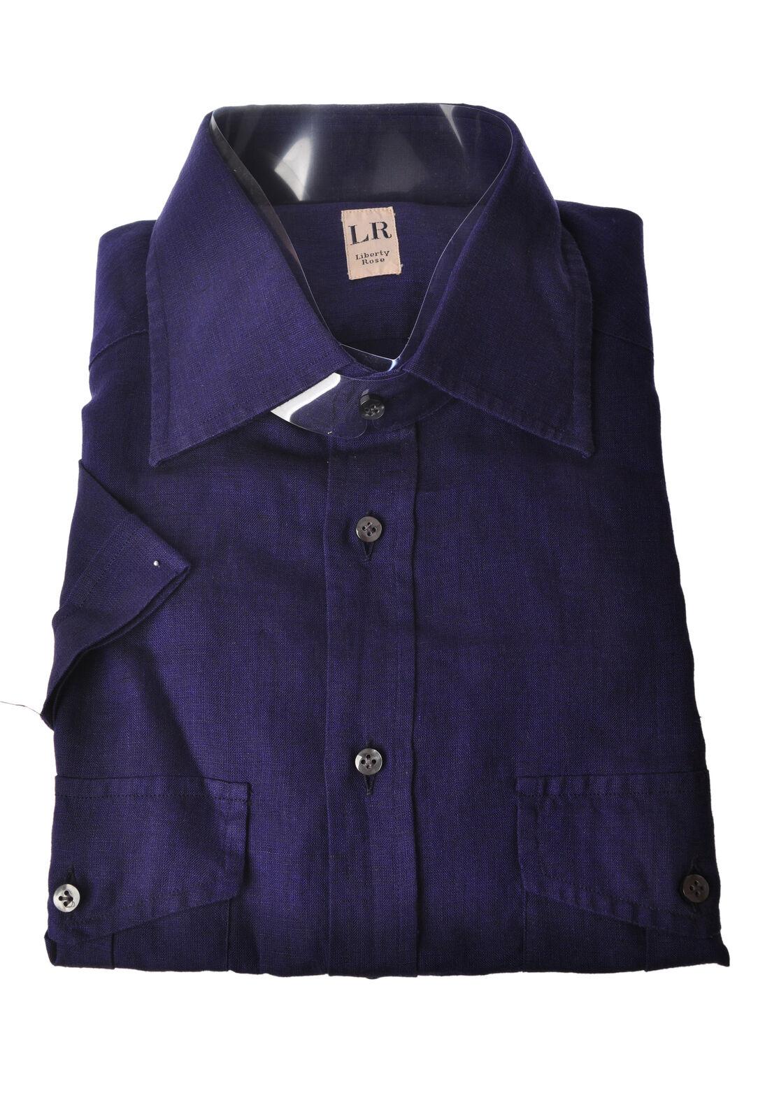 Liberty Rose  -  Shirt - Male - Blau - 3457821A182504