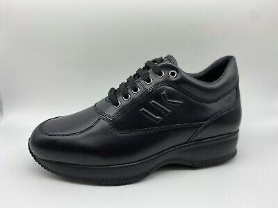 Scarpe Sneakers Lumberjack Raul pelle nera tipo hogan Interactive | eBay