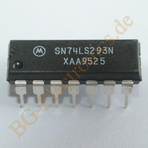 5 x sn74ls293n Decade Counter 4-bit binary counter Motorola dip-14 5pcs