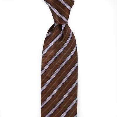 $ 240 Nuova Con Etichetta Italo Ferretti Pois N A171 Righe 100% Seta Cravatta
