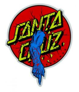 SANTA-CRUZ-034-Rob-Dot-034-Skateboard-Snowboard-Sticker-10cm-Old-Skool-Roskopp