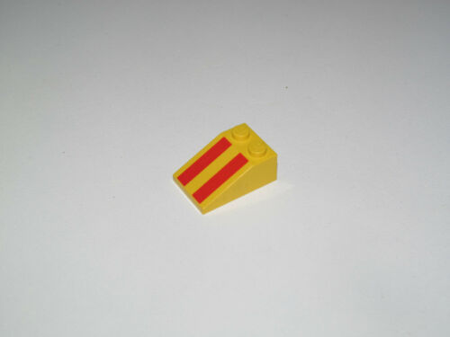 Lego ® Brique Penchée 2x3 Sérigraphié Slope brick Choose Stickers Pattern 3298