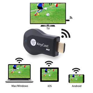 1080P HD HDMI WiFi TV Stick DLNA Chromecast Airplay Dongle for Netflix YouTube