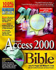 Access 2000 Bible by Michael R. Irwin, Cary N. Prague (Paperback, 1999)