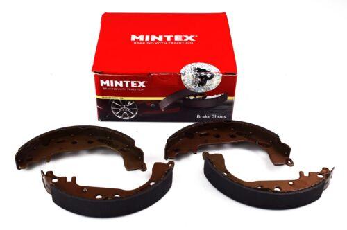 REAL IMAGE OF PART MINTEX REAR AXLE BRAKE SHOES SET DAIHATSU TOYOTA MFR459
