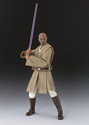 Kb10 S.H.Figuarts Star Wars Episode 1 MACE WINDU WINDU WINDU Action Figure BANDAI NEW Japan 0e1854