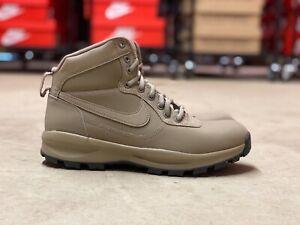 Nike-Manoadome-Mid-Mens-Hiking-Trail-Boots-Khaki-Brown-844358-200-NEW-Multi-Size