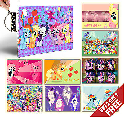MY LITTLE PONY A4 Poster Options for Kids Children Cartoon Fans Gift Idea