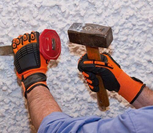 10 Arbeitshandschuhe Kerbl 297734 Mechanic Handschuh Brandy Keron Active Gr