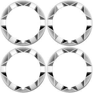 """4 PC Set 15"""" Inch Beauty Outer Trim Rings FITS TOYOTA PRIUS 2004-2009 Hub Caps"""