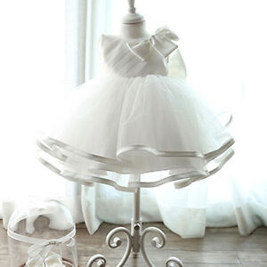 6M-9-Kids-Baby-Girl-Flower-Princess-Dress-Toddler-Party-Pageant-Formal-Ball-Gown